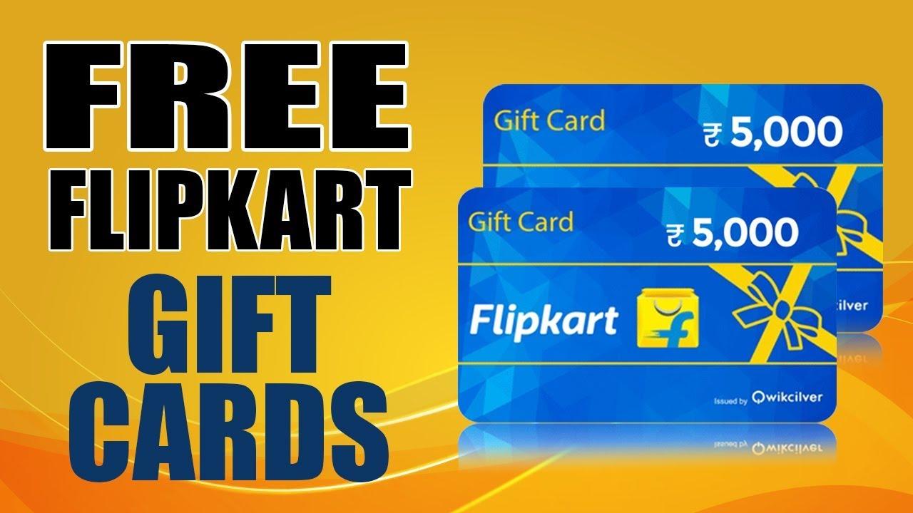 free flipkart gift card codes